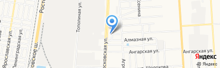 Грундфос на карте Краснодара