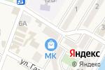 Схема проезда до компании Кондитерский магазин в Небуге