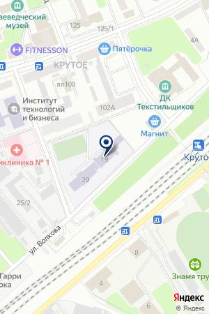 ОРЕХОВО-ЗУЕВСКАЯ ТЕПЛОСЕТЬ на карте Орехово-Зуево
