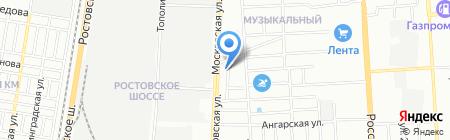 КубаньПожМонтаж на карте Краснодара