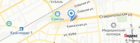 Мега-Принт на карте Краснодара