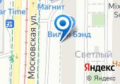 Участковая ветеринарная лечебница Московская на карте