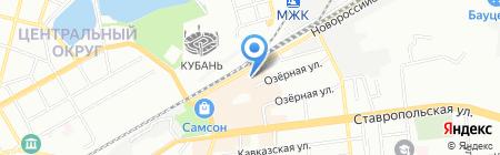 Креатив на карте Краснодара