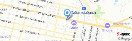 Доктор выхлоп на карте Краснодара