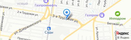 ИНДУСТРИЯ на карте Краснодара