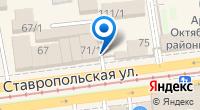 Компания Золотой на карте
