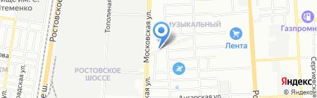 КонтинентЮгСтрой на карте Краснодара