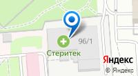 Компания Стеритек на карте