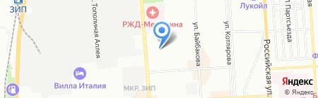 Детский сад №216 на карте Краснодара