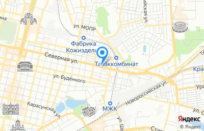 Местоположение на карте пункта техосмотра по адресу г Краснодар, ул им. Ломоносова, д 471/42