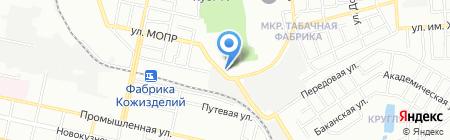 Шкода-Авто на карте Краснодара