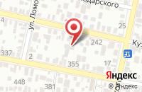 Схема проезда до компании Бонэл в Краснодаре