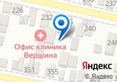 Краснодарский на карте
