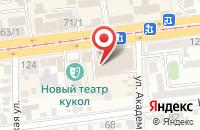 Схема проезда до компании Продуктовый магазин в Старой Станице