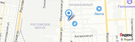 1 место на карте Краснодара
