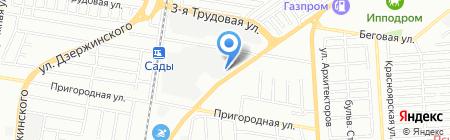 КитРосСервис на карте Краснодара
