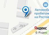 Автотемп на карте