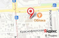 Схема проезда до компании Пинскдрев в Ростове-на-Дону