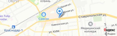 Дом кофе на карте Краснодара