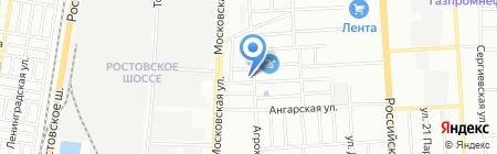 ЭКО-БИТ на карте Краснодара