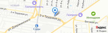 Хозяюшка на карте Краснодара