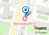 Городская поликлиника №18 на карте