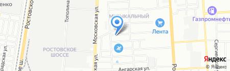 Лидерстенд на карте Краснодара