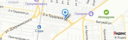 Стальканат-метиз на карте Краснодара