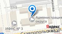 Компания Единая дежурно-диспетчерская служба, МКУ на карте