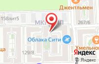 Схема проезда до компании Non Stop в Краснодаре