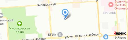 ALFA-CITY на карте Краснодара