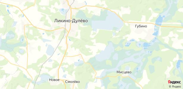 Язвищи на карте