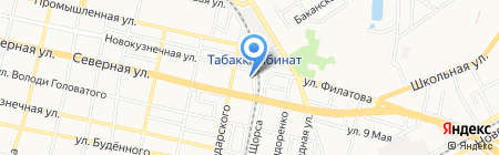 КУБАНЬ-СВЕТОДИОДЫ на карте Краснодара