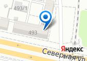 Городская комиссия по освидетельствованию водителей автотранспорта на карте