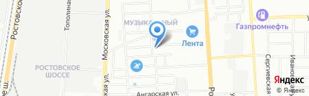 Коллекция идей на карте Краснодара