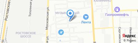 Профи на карте Краснодара