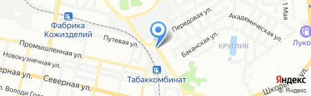 Эверес-сервис на карте Краснодара