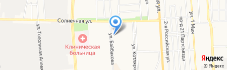 Аккумулятор-Юг на карте Краснодара