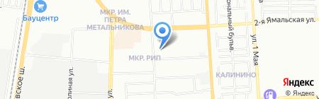 София на карте Краснодара