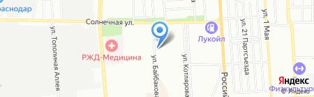 СтройТехЭкспертиза на карте Краснодара
