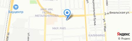 Времена года на карте Краснодара