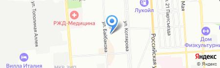 Орион на карте Краснодара