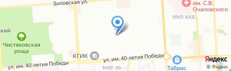 Акцент Плюс на карте Краснодара