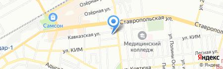 Медком-МП на карте Краснодара