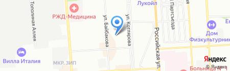 Атри-М на карте Краснодара