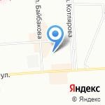 Звёздочка на карте Краснодара