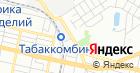 Продуктовый магазин на Передовой на карте