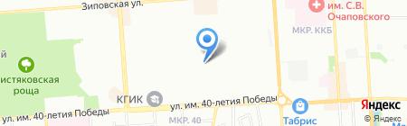 Пропаганда на карте Краснодара