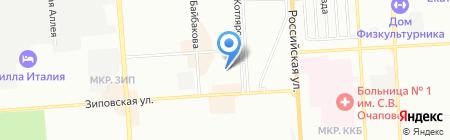Tiffany на карте Краснодара