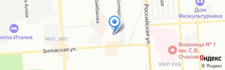 Линия жизни на карте Краснодара